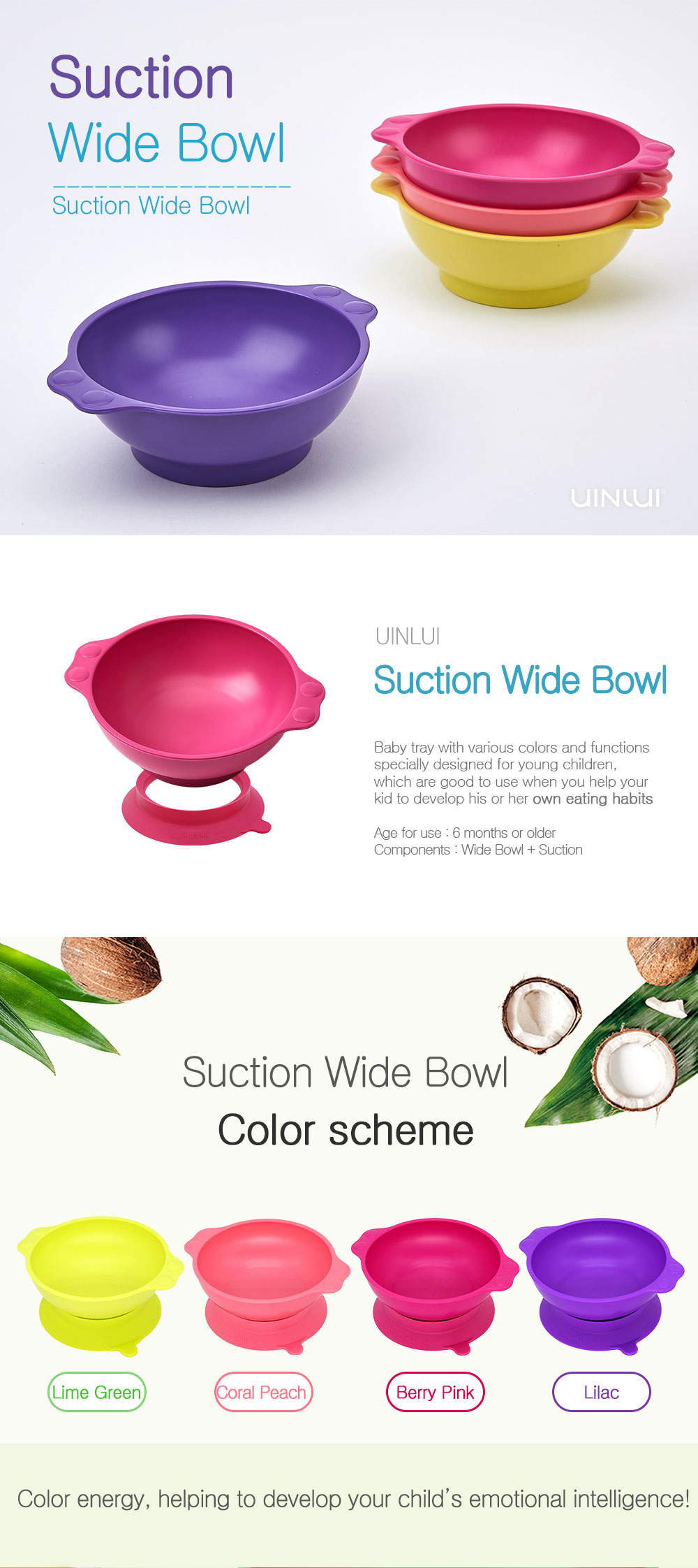 Suction Wide Bowl